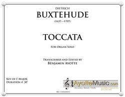 Bustehude - Buxtehude Toccata 21 in F (Digital PDF Download)
