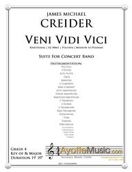 Creider - Veni Vidi Vici Suite (Digital PDF Download)