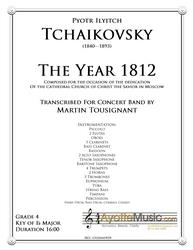 Tchaikovsky - The Year 1812 (1812 Overture), arr. Tousignant