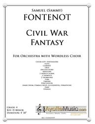 Fontenot - Civil War Fantasy (Digital PDF Download)
