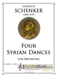Schenker - Syrian Dances for Orchestra