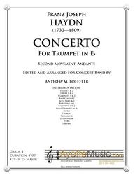 Haydn - Trumpet Concerto in Eb (transcribed for Concert Band) Second Movement
