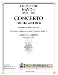 Haydn - Trumpet Concerto in Eb (transcribed for Concert Band) Third Movement