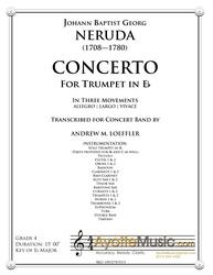 Neruda - Trumpet Concerto in Eb (transcribed for Concert Band)