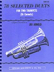 78 Selected Duets for Trumpet or Cornet Book 1 Easy Intermediate